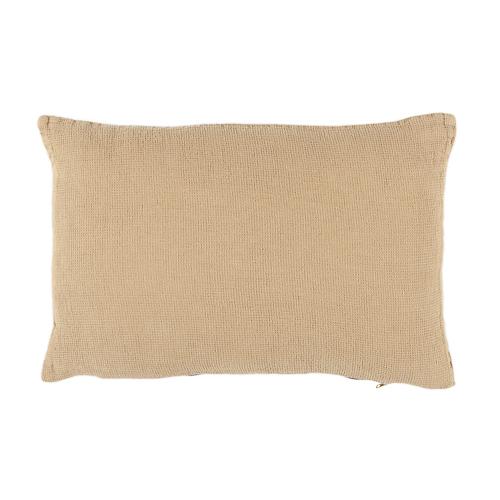 Beige linen cushion 30x50cm