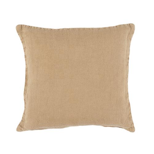 Beige linen cushion 40x40cm