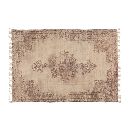 AAI Vintage Noon cotton printed rug