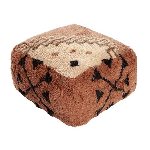 Vintage Noon pouf wool