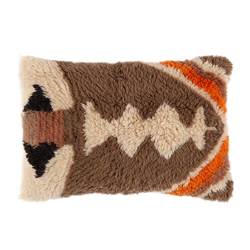 Wool cushion 40x60cm retro
