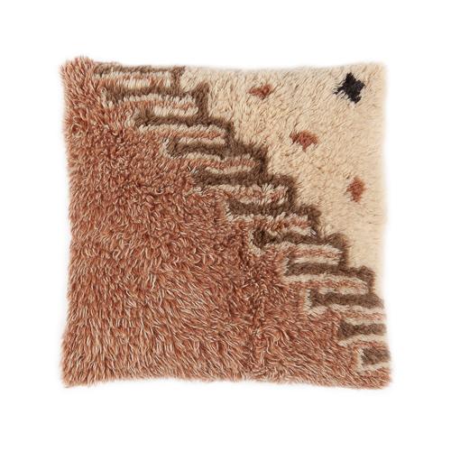 Vintage wool cushion 50x50cm