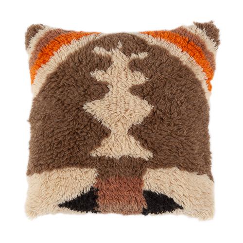 Wool cushion 50x50cm retro