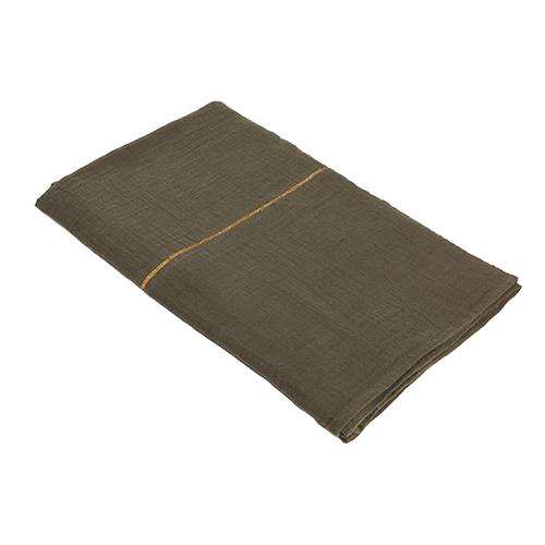 Green organic cotton bedsheet 270x280cm
