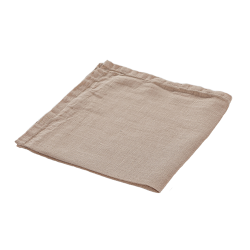 100% washed linen napkin